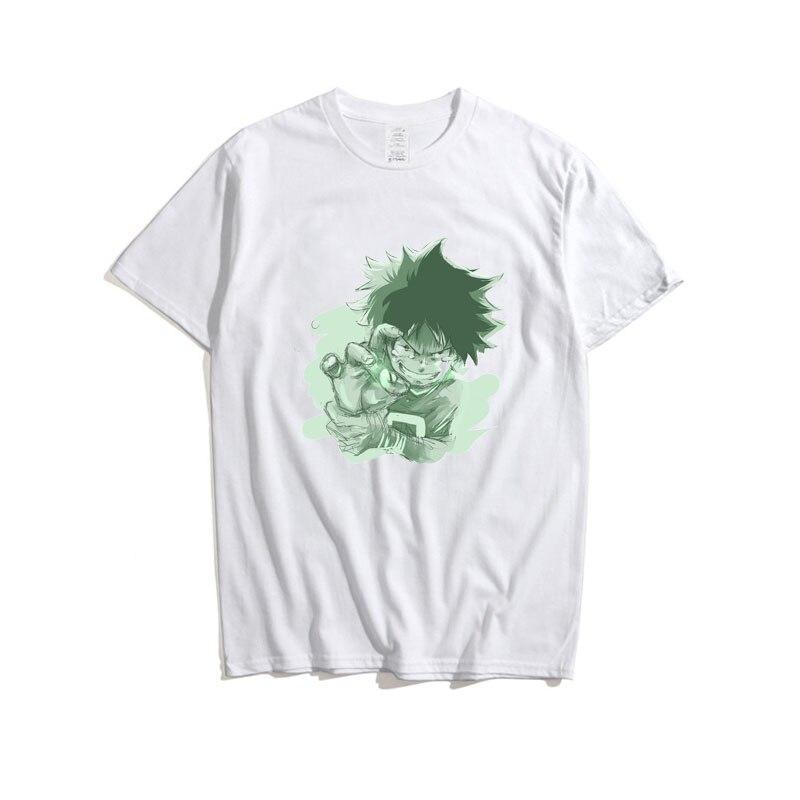 Cosroad Boku No My Hero Academia Midoriya Izuku One for All T Shirt Men Cotton Summer T-shirts1 (12)
