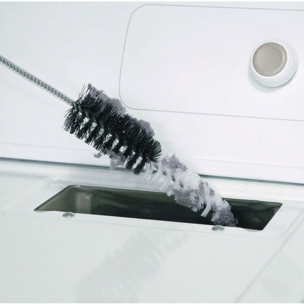 Clothes Dryer Lint Vent Trap Cleaner Brush gas electric Fire Refrigerator image