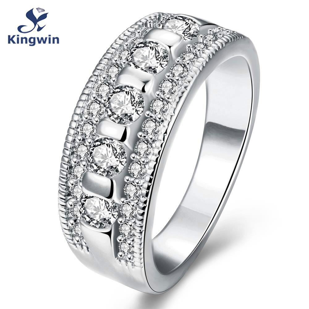 High quality women fashion jewelry 925 engagement rings austrian crystals,  sterling silver Zirconia band ring