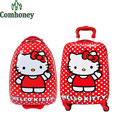 Hello Kitty Kids Trolley School Bags Children Boys Girls Snow Queen School Backpack Anna Elsa Kids Suitcase Trolley Backpack