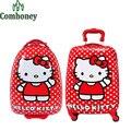 Olá Kitty crianças escola bolsas meninos meninas neve rainha de escola mochila Anna Elsa crianças mala de mochila