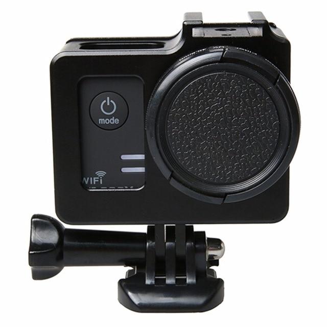 Универсальный Алюминиевый Сплав Защитный Чехол с Объективом Защитный Колпачок для SJCAM SJ5000 и SJ5000X и SJ5000 Wi-Fi Спорт Действий Камеры