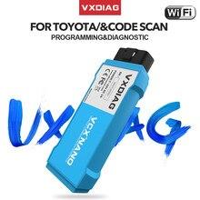 Vxdiag nano ferramenta de diagnóstico para o software de toyota it3 tis v14 techstream v15 wifi scanner diagnóstico para lexus obd2 carro ferramentas