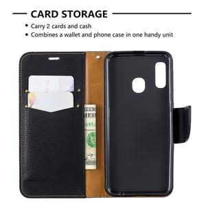 Image 5 - Ví Ốp Lưng Dành Cho Samsung Galaxy Samsung Galaxy A10 A20 A30 A40 A50 A70 S10 S9 Note 10 Plus Lật Da Magetic Đóng Cửa thẻ Đứng Bao Da