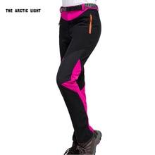 Nuevo Recorrido Al Aire Libre que va de Excursión de Esquí Pantalones Pantalones de Caparazón Blando a prueba de Viento Impermeable Térmica Para Las Mujeres