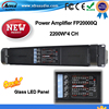2016 Newest Lab Gruppen Fp20000q High Quality Power Amplifier 2200W 4 Channels