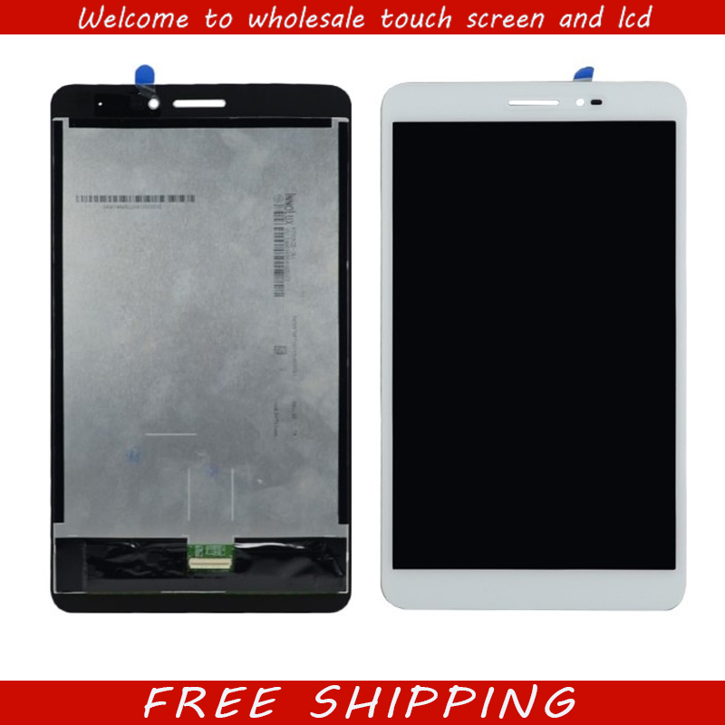 New 8'' inch For HUAWEI MediaPad T2 8Pro T2-8Pro LCD Display Monitor with Touch Screen Digitizer Glass white lcd display touch screen digitizer assembly for huawei mediapad m3 lite 8 0 td lte cpn l09 cpn w09c