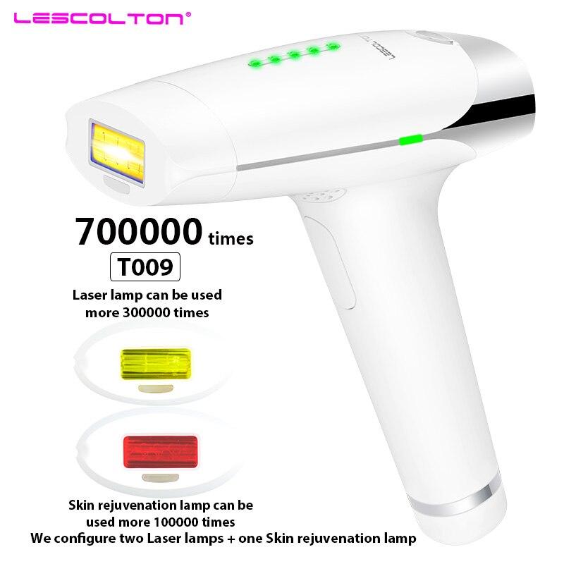 Lescolton 700000 раз depiladora лазерная машина для удаления волос Lazer Epilasyon удаление волос постоянный Электрический depiladora лазер