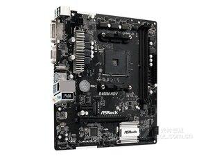 Полный новый Asrock B450M-HDV материнская плата 32G DDR4 AMD B450 гнездо AM4 VGA HDMI DVI USB2.0 3,0