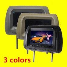 1 Sztuk Uniwersalny 7 cal wyświetlacz wyświetlacz kolorowy monitor LCD Samochód Samochód specjalny monitor monitor Poduszka car styling Jakości Asssured