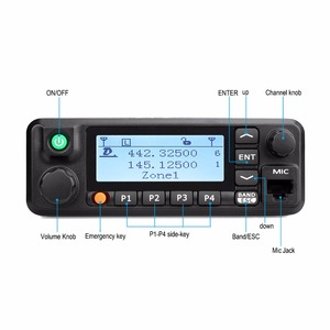 Image 2 - جهاز إرسال واستقبال رقمي رقمي من Retevis طراز RT90 DMR مزود بنظام تحديد المواقع ذو تردد عالٍ للغاية وجهاز إرسال واستقبال ثنائي النطاق بقدرة 50 واط يعمل في اتجاهين مع كابل للبرنامج