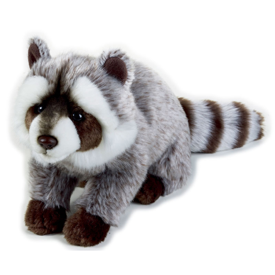 Stuffed Raccoon Toys Lovely Simulation Animal Doll Plush Sleeping Toy Kawaii Plush Graduation Gift Boneca Toys For Kids 70G0597