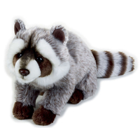 Stuffed Raccoon Toys Lovely Simulation Animal Doll Plush Sleeping Toy Kawaii Plush Graduation Gift Boneca Toys For Kids 70G0597