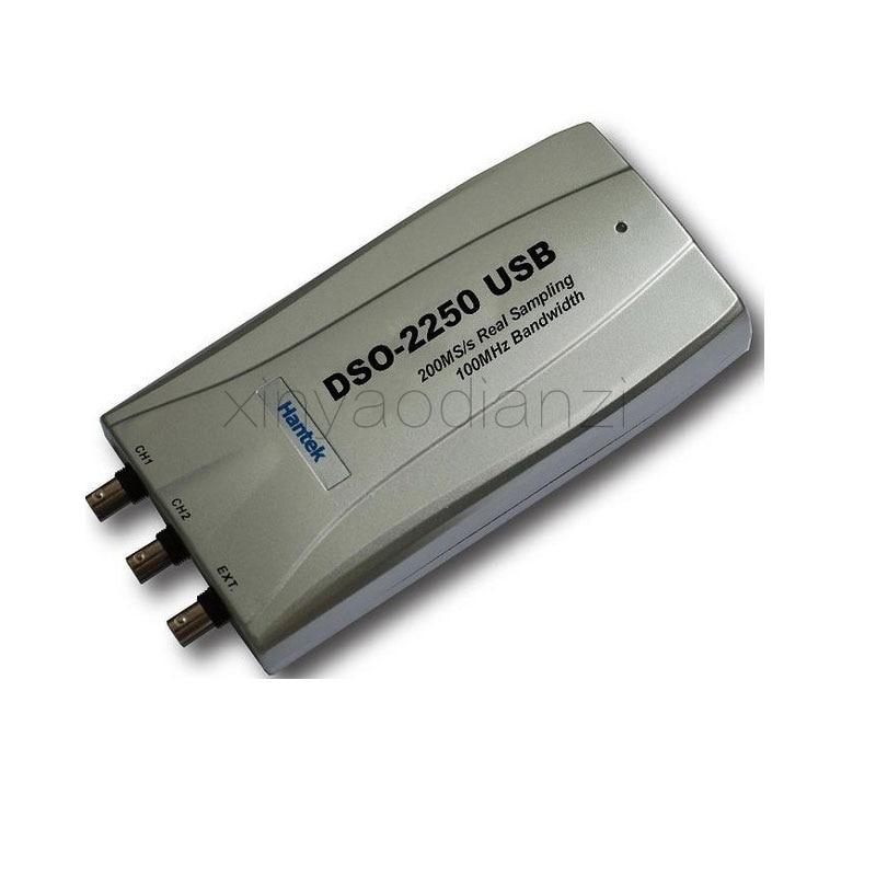 Hantek PC USB Digital Oscilloscope  DSO2250  2Channels  100MHz   250MSa/s осциллограф hantek 6022be usb storag 2channels 20 48msa s