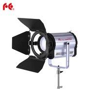 Falconeyes 160W Fresnel LED Light Bi color Adjustable Studio Video Light DMX512 system LED Light with Cooling Fan CLL 1600TDX