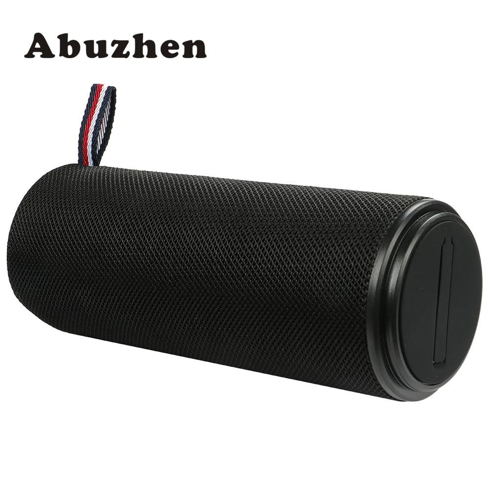 Abuzhen Bluetooth Speaker Portable bluetooth Speake Outdoor Bluetooth Speaker Mini Speakers Handsfree Super Bass with mic