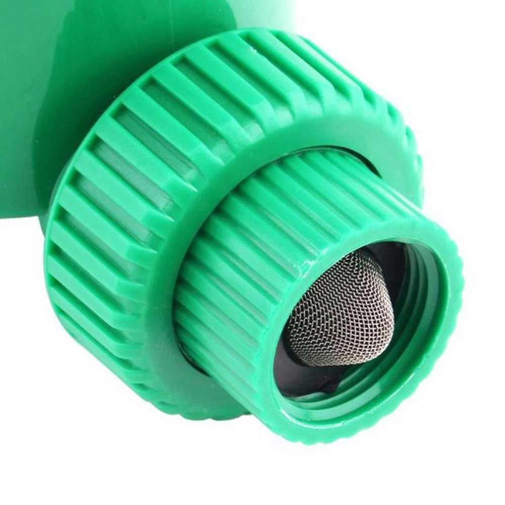 ลูกบิดหมุนตั้งเวลาน้ำอัตโนมัติอิเล็กทรอนิกส์ตั้งเวลารดน้ำวาล์วชลประทาน Sprinkler Controller สำหรับ Micro หยดชลประทาน