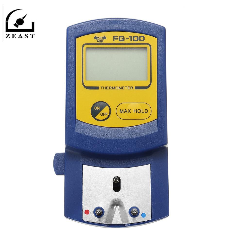Цифровой термометр с наконечником для паяльника, термометр с наконечником для паяльника, измеритель температуры с датчиком температуры 5 ш...