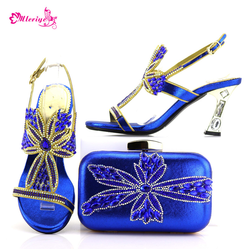 все цены на 0548 Latest Blue Color Italian Shoes with Matching Bags for Wedding Italy Nigerian Wedding Shoes and Bag Set Party Shoes and Bag онлайн