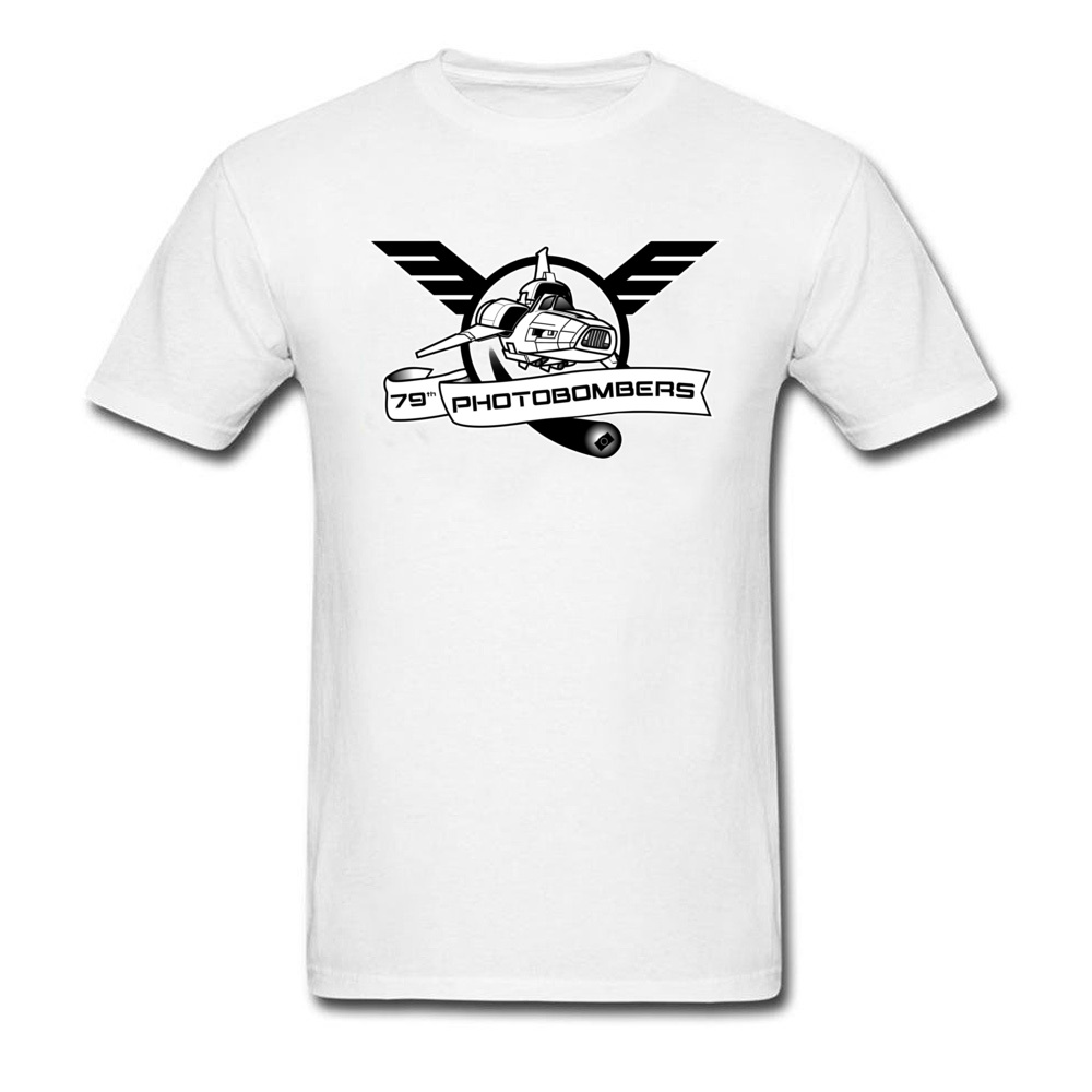 Free Shipping Men's Fashion Cool <font><b>Tshirt</b></font> Espana <font><b>AF</b></font> 79th Photobombers Space Squadron 100% Cotton T-shirts New Coming Clothing image