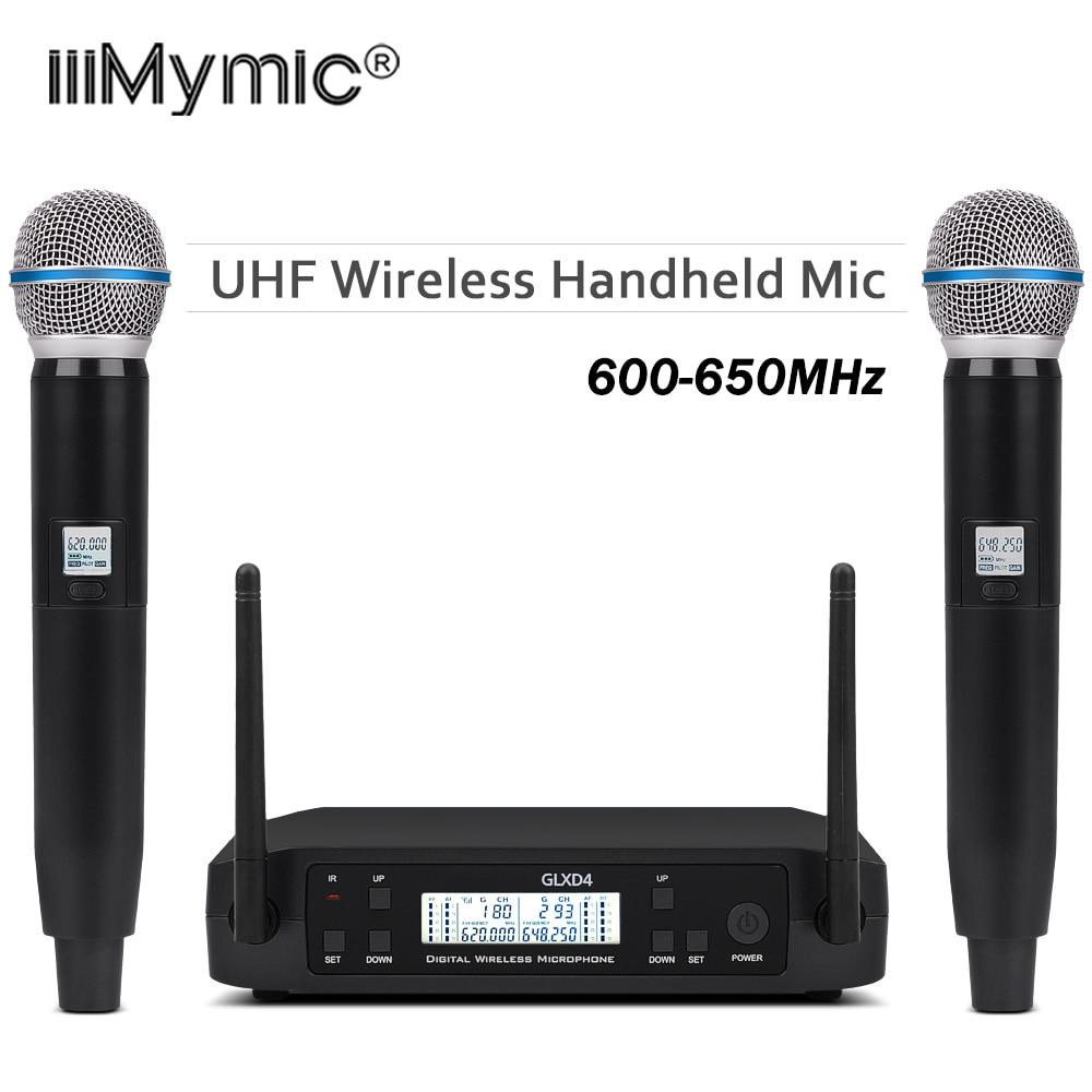 headset lavalier collar microphone wireless system GLX BLX SLX PGX 14 24 UHF dual bodypack transmitter