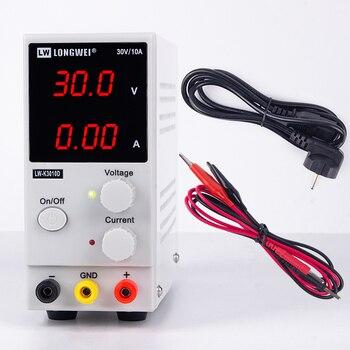 30 V 10A светодиодный Дисплей Регулируемый регулятор переключения DC Питание K3010D ремонт ноутбуков паяльная 110 v-220 v лаборатории DC Питание