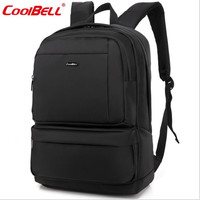 Cool Bell 15 6 Inch Shockproof Laptop Backpack Large Capacity Teenagers Schoolbag Business Anti Theft Travel