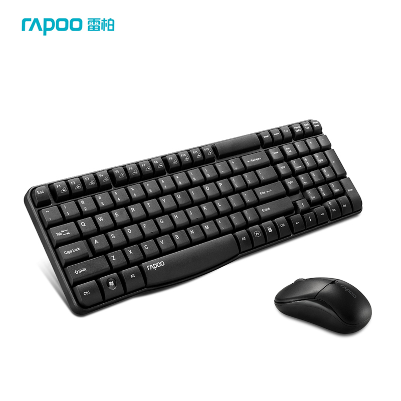 ФОТО Rapoo 1865 Wireless Keyboard Mouse Combos 2.4Gz 1000DPI 10 Meters Wireless Optical Mouse Keyboard Energy Saving