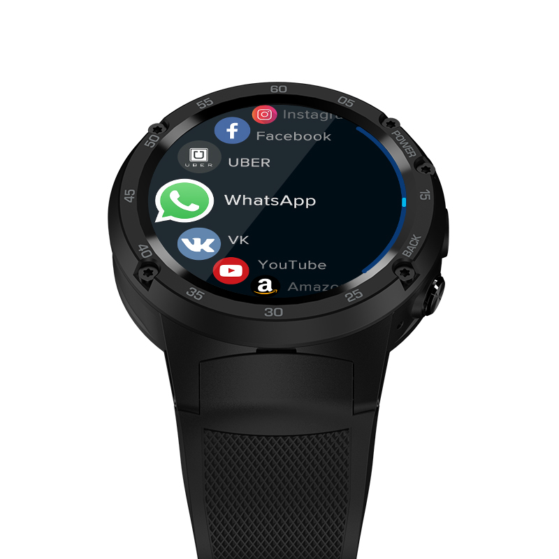 Image 3 - Zeblaze THOR 4 Flagship 4G LTE GPS SmartWatch Android 7.0 MTK6737 Quad Core 1GB+16GB 5.0MP 580mAh 4G/3G/2G Data Call Watch Men-in Smart Watches from Consumer Electronics