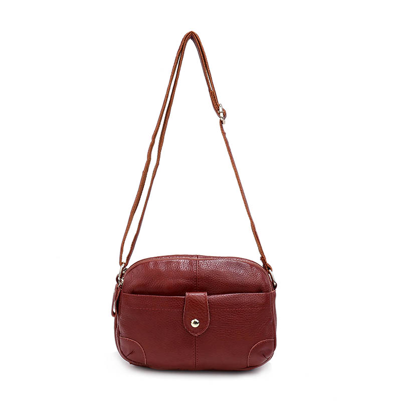 959ede11cf44 Aliexpress.com   Buy Nuleez Genuine Leather Mini Handbag Small Crossbody Bag  For Women Real Leather Handle Bags Red Black Messenger Bags Summer 5101  from ...