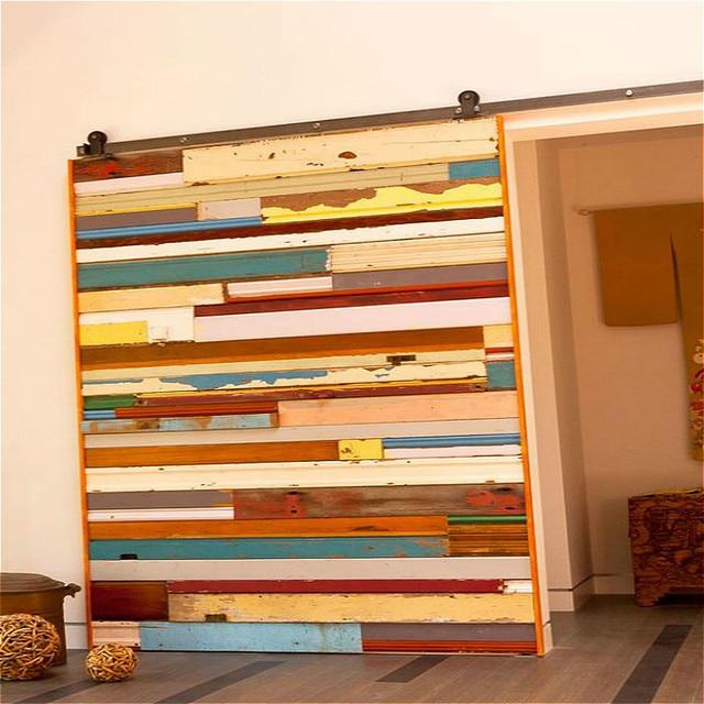 Montaje de puertas de interior simple montaje superior for Puerta granero madera