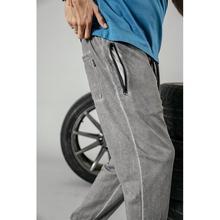 Dark Washed Colour Retro Sweatpants
