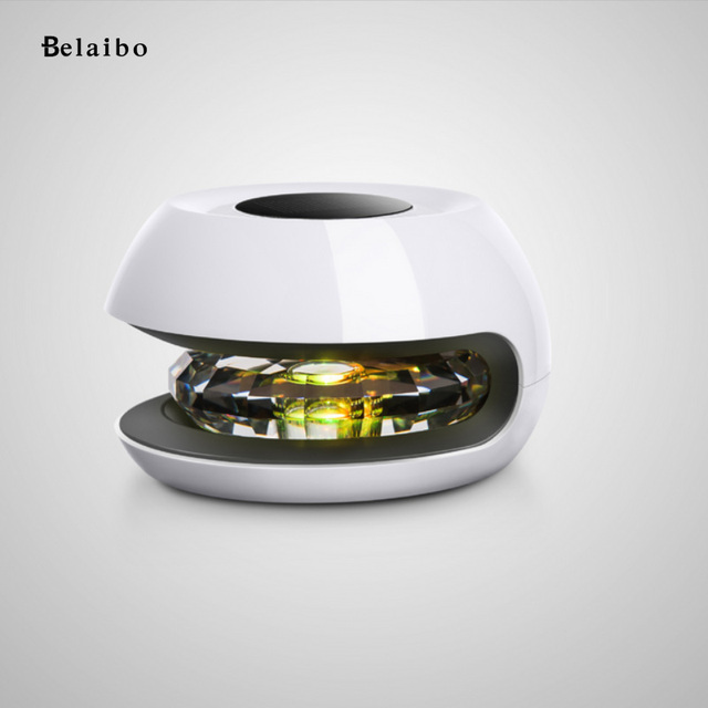 Solar Air Purifier Magic Ball Colorful Changing Remove Cigarette Smoke Formaldehyde Germs For Car and Home styling