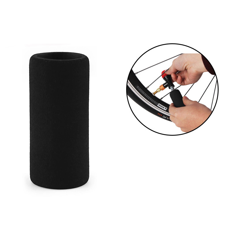 1 Pc Bicycle CO2 Bottle Cover Air Pump Sleeve Protection Anti Freezing Bike Accessory
