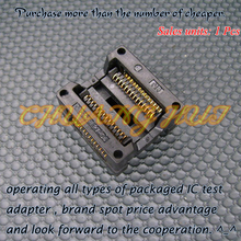 цена на OTS-28-1.27-04 SOP28/SOIC28 IC Test Socket / Programmer Adapter / Burn-in Socket 1.27mm Pitch(300mil)