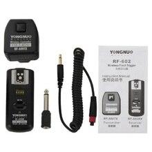 YONGNUO RF-602/N YONGNUO RF-602 RF602 РФ 602 2.4 ГГц Беспроводной Пульт Дистанционного Запуска Вспышки для NIKON D90 D5100 D700 D3 D5300