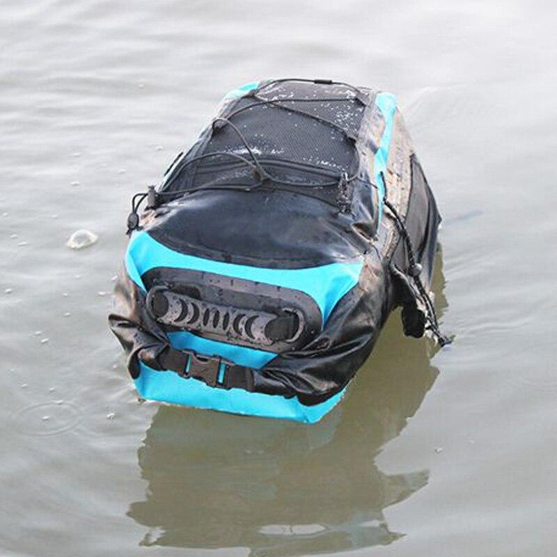 30L sac à dos étanche sac sec sac de natation bandoulière réglable flottant sac sec pour la navigation de plaisance flottant Rafting