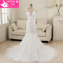 MTOB1867 Mermaid Wedding Dresses 2018 Online Shop Back