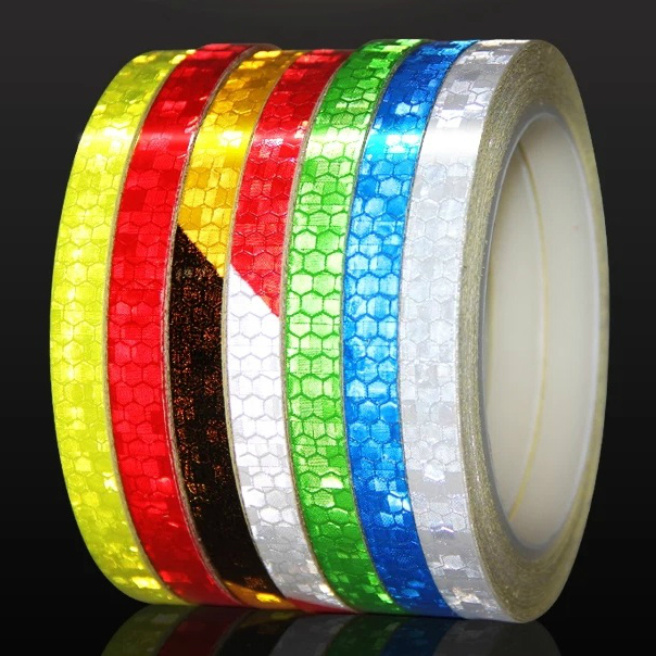 Reflective Material Cheap Sale Reflective Tape Fluorescent Mtb Bike Bicycle Cycling Mtb Reflective Stickers Adhesive Tape Bike Stickers Bicycle Accessories