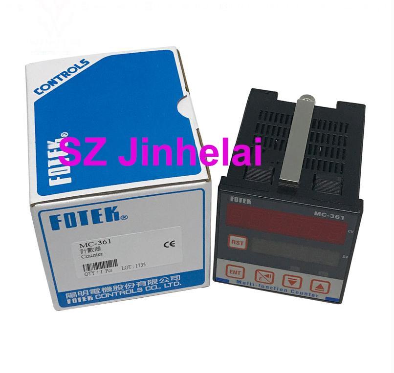 FOTEK  MC-361  Authentic original Automatic reset output relay,CounterFOTEK  MC-361  Authentic original Automatic reset output relay,Counter