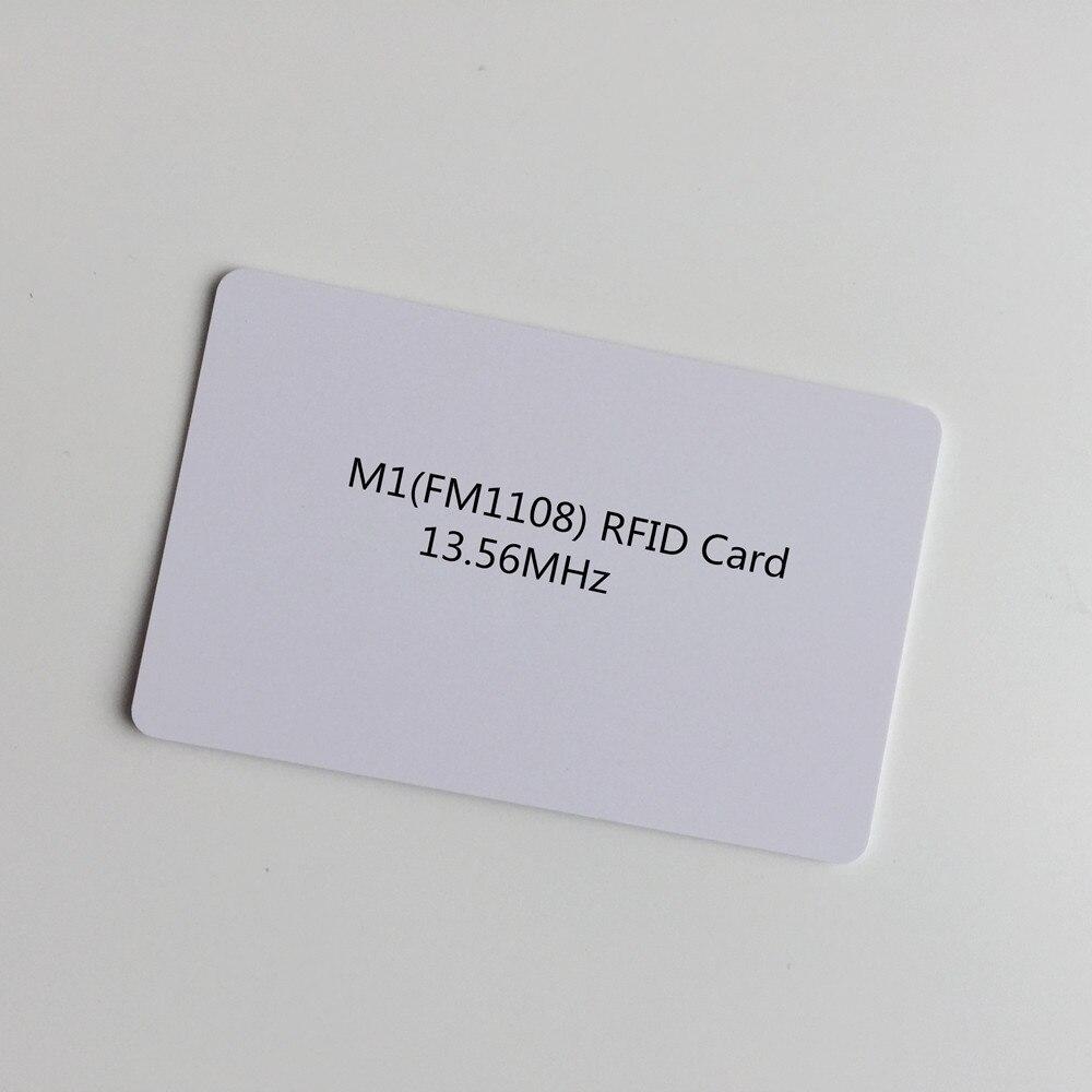 100 Pcs/lot Blank Weiß Inkjet Pvc Rfid Proximity 13,56 Mhz Chip Pvc Karte Smart Cantactless Ic Karte Für Mitgliedschaft Karte Das Ganze System StäRken Und StäRken