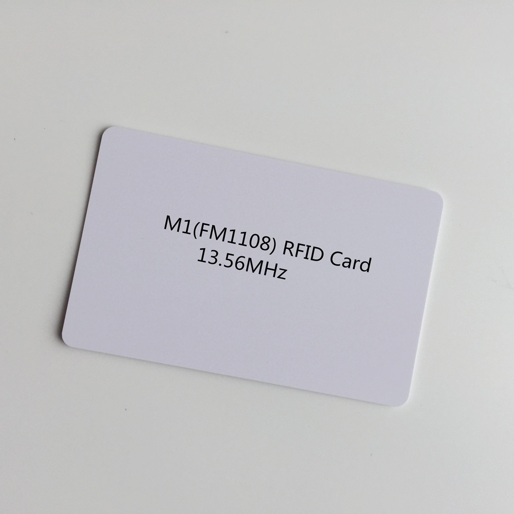 Business Cards Objective 100pcs/lot Blank White Inkjet Pvc Rfid Proximity 13.56mhz Chip Pvc Card Smart Cantactless Ic Card For Membership Card Quality And Quantity Assured