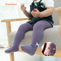 Bebé Niñas Medias Medias de Algodón de Harper Seven Estilo Sólido Bowknot Para 0-2 T Lindo Ocasional Gilrs Del Bebé de la Media medias DQ033