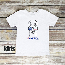 Mommy Daddy Baby LLAMERICA Tshirt 4th of July Matching Shirts and Me Tops Outfits America Tee XXL New Fashion