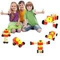 Деформируемого творческие блоки Обучающие Мягкие Монтессори деревянные игрушки для детей интерактивные обучения образование западная марка