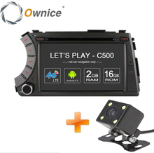 Ownice C500 4G SIM LTE 1024*600 Android 6.0 Quad Core car dvd gps player for ssangyong Kyron Actyon 4G Wifi BT radio 2GB RAM