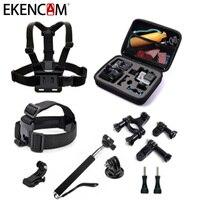 EKENCAM Action Camera Accessories Set Kits For GoPro Hero 5 4 3 SJCAM Xiaomi Yi 4k