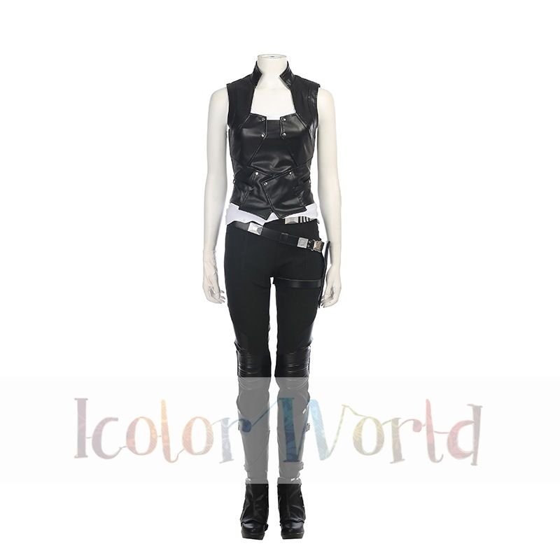 Guardians of the Galaxy Vol. 2 Gamora Cosplay Costume14