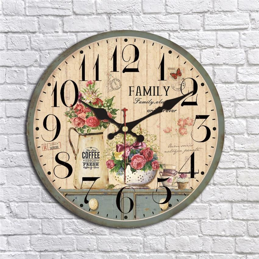 41186 настенные часы с декором открытка