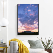 HD Print Abstract Canvas Art Poster Color Sky Cartoon Paintings On Modern Wall For Home Decorations Decor Framework